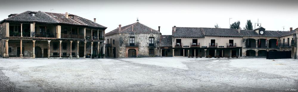 photoblog image Panorama of Pedraza's main square